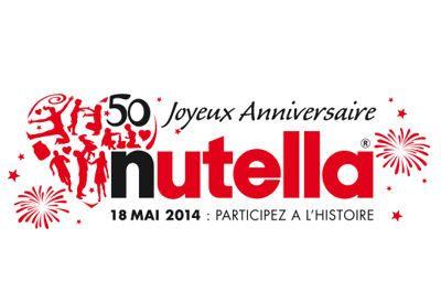 Les 50 ans de Nutella !  Plus d'infos sur www.hommedeco.fr