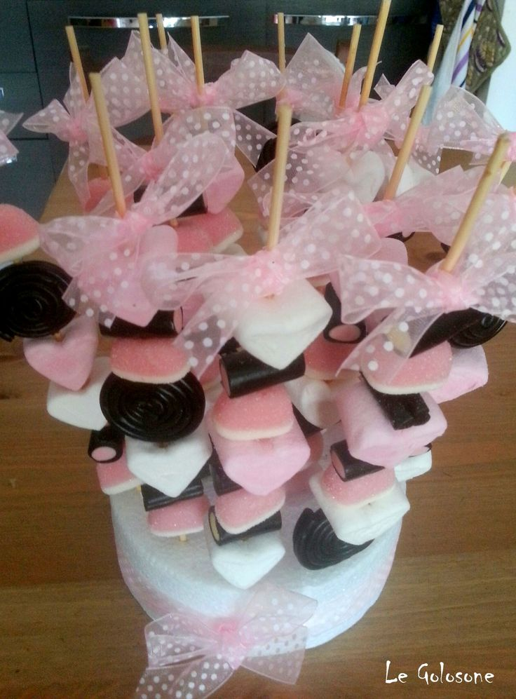 Spiedini di Cramelle Candy Kabobs  Follow us on FB: https://www.facebook.com/Le-Golosone-Torte-1687546321480525/?ref=settings
