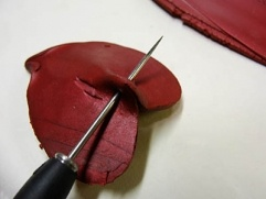 Bronze Verdigris Leaf Necklace   Polyform Products Company