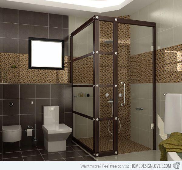 18 sophisticated brown bathroom ideas