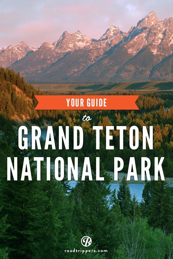 Grand Teaton National Park is home to some of the most beautiful natural wonders in the world. With so much to see and do, this national park is a must visit!