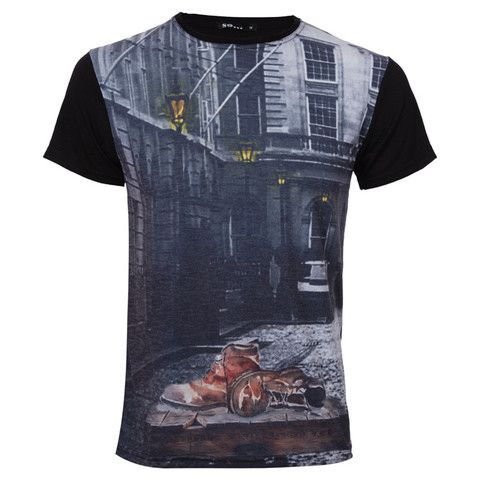 "Ανδρικό T-shirt Μαύρο ""Shoes"" - So Fashion  http://brands4all.com.gr/collections/mens-t-shirt"