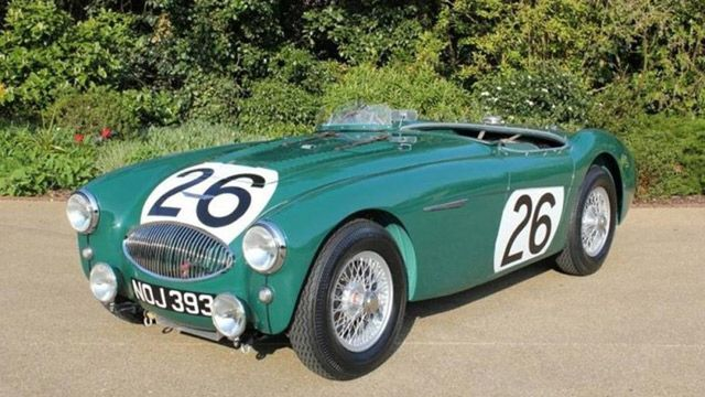 Austin-Healey involved in racing's worst crash now restored. Part of the 1955 Le Mans disaster that killed Mercedes driver Paul Levegh. - Road & Track