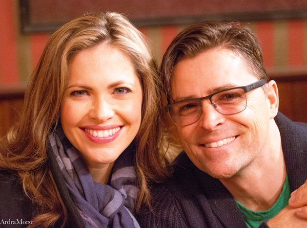 Hearties Family Reunion 2016 - When Calls the Heart - Pascale Hutton and Kavan Smith (a.k.a Lee and Rosemary)