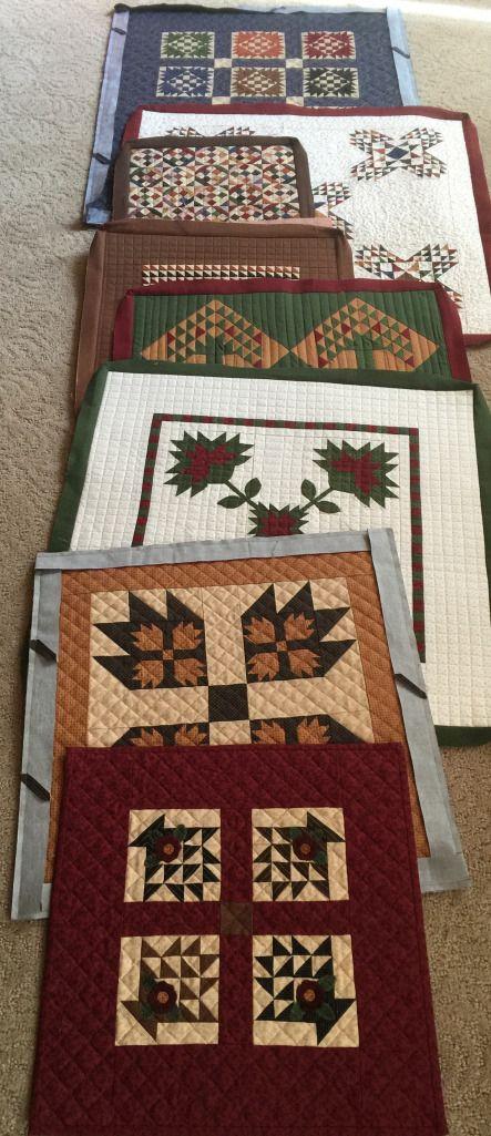 Lisa Bongean small quilts