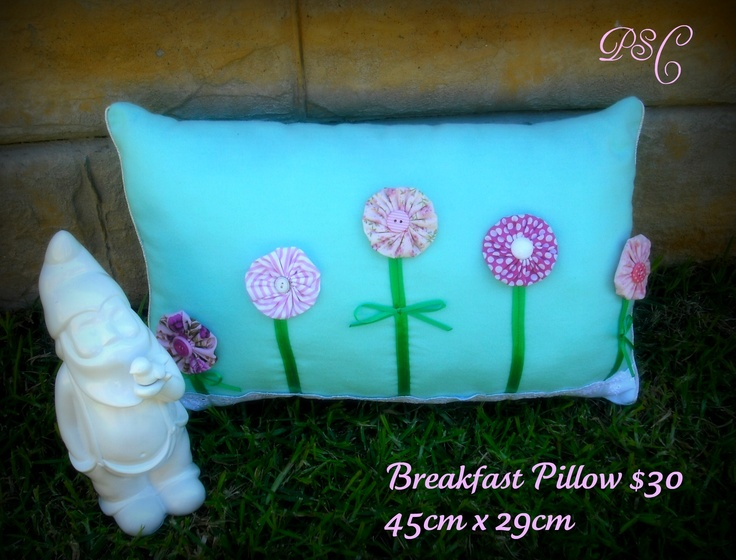 Gorgeous Spring Breakfast Pillow  By PSC©