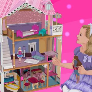 games barbie house
