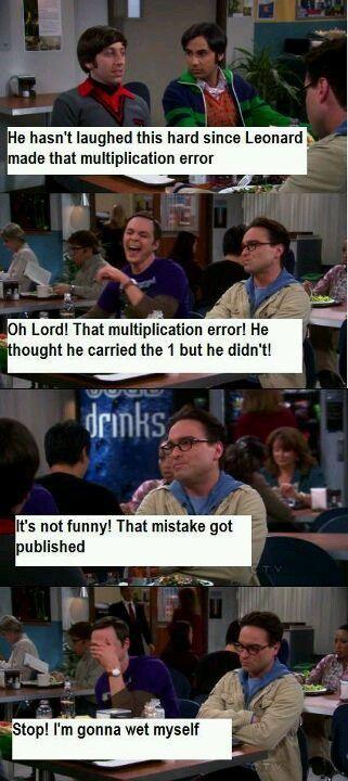 Hilarious Sheldon Cooper-Bhahahahahahahahahahha!