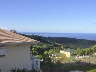 Villa Kanoua Spacieux F2 avec vue sur la mer des Caraïbes (Réf:5545 Appartement Martinique Carbet)