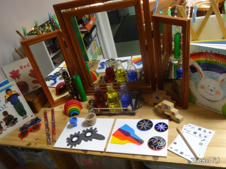 Classroom Ideas Early Years ~ A variety of activities linked with colour for the early