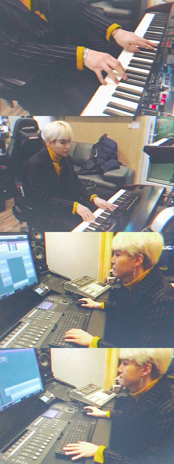 I would give everything just to see him working on his music in person. One day...