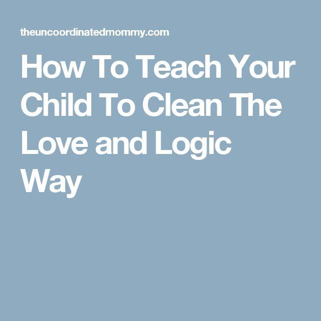 how to teach love and logic