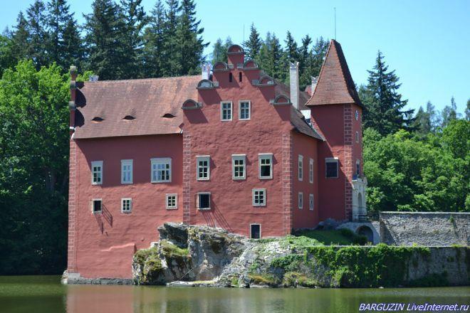 Готическая крепость-замок Червена Лгота. Чехия