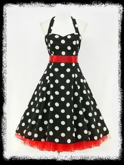 red black polka dot dress | Gommap Blog
