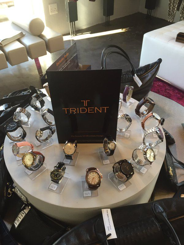 """VOICESClub on Twitter: """"Come in and touch and try the magnificent Trident collection in the Popinshop 115 Waterkant street"""