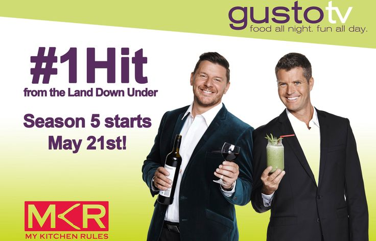 Spread the word! My Kitchen Rules season 5 is coming to Gusto! Meet the teams here: http://gustotv.com/shows/other/mykitchenrules/