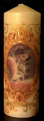 Νεα Δημιουργία σε κερί - Martha's Deco