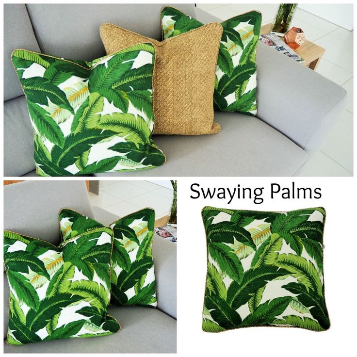 Outdoor cushions -  Swaying Palms with the perfect partner Tampico Rattan .....