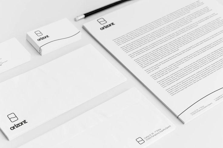 Diseño de nombre y marca para Orizont // Naming and branding for Orizont