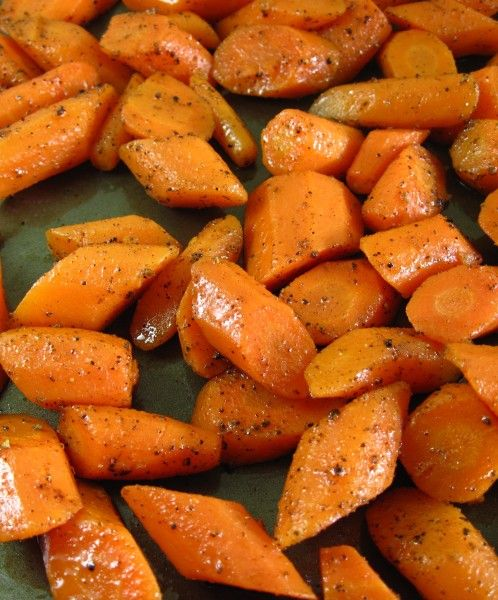 Roasted Carrots | 17 Day Diet