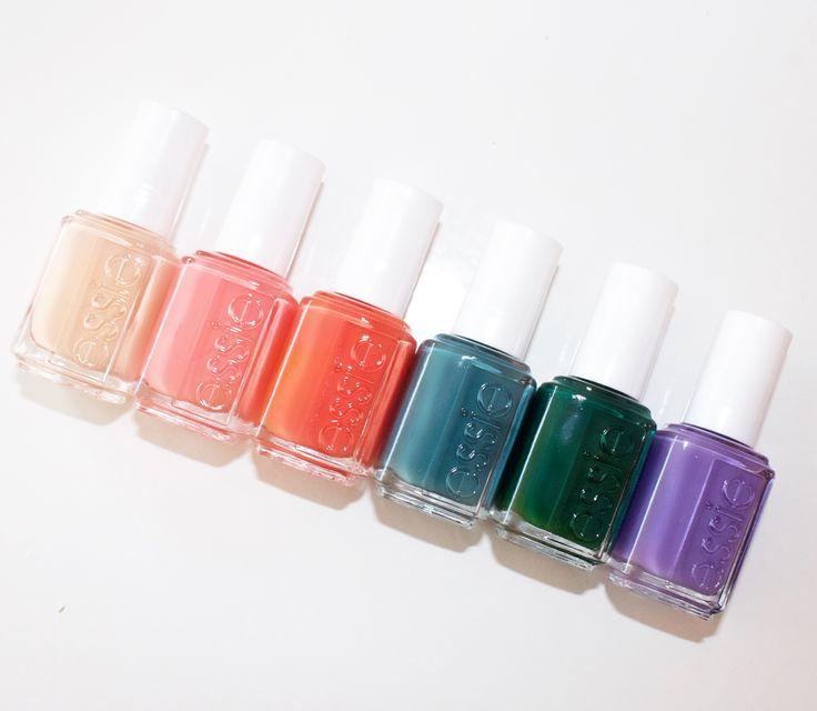 Essie spring 2016 collection - nail polish