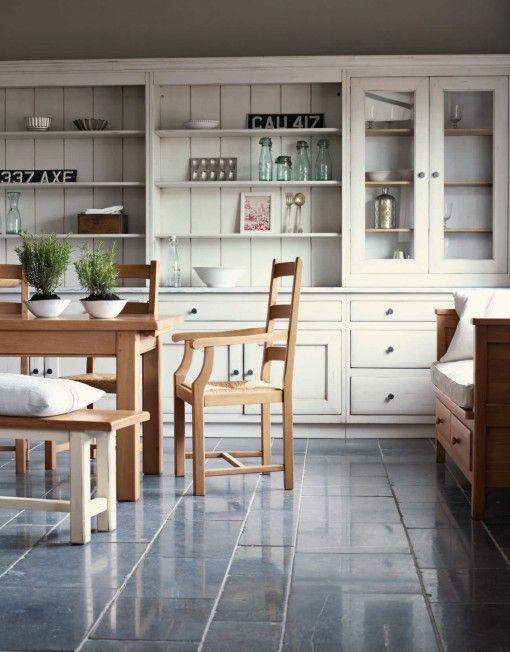 Bastide fransk landk kken fired earth for Earthy kitchen designs