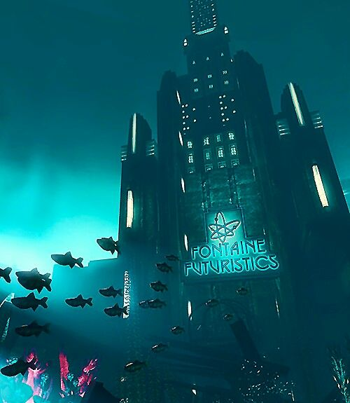 (*** http://BubbleCraze.org - You'll never put this Android/iPhone game down! ***) Bioshock | fontaine futuristics
