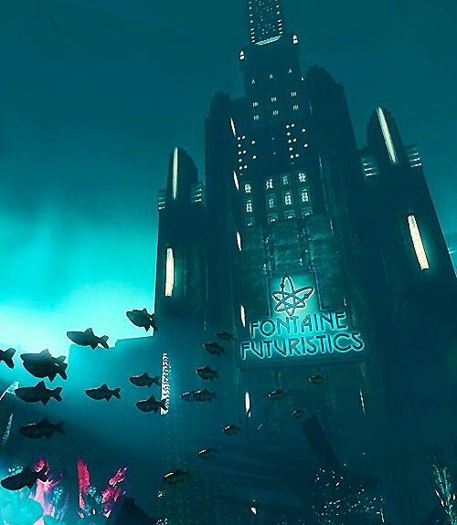 Bioshock | fontaine futuristics