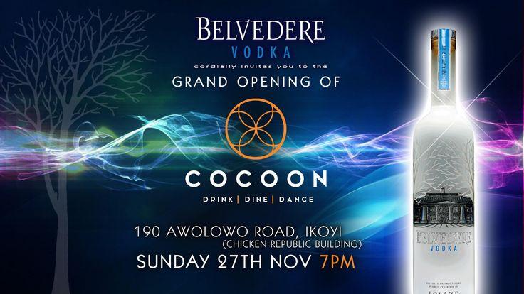 Cocoon Lagos Cocoon, Cool bars, Vodka
