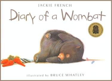 Award winning children's book about a wombat who enjoys the simple things in life.