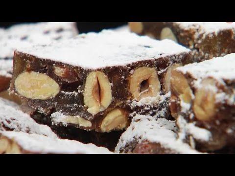 Рождественские конфеты с орехами рецепт