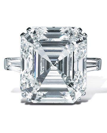 Graff Square Cut Diamond Ring