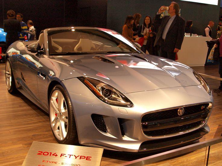 Jaguar convertible - Just nasty!