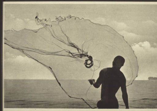 Net-fishing. :: International Mission Photography Archive, ca.1860-ca.1960