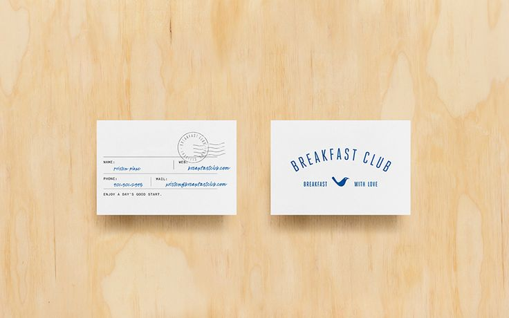 Breakfast Club on Behance