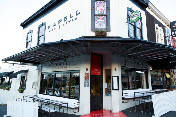 Rekorderlig presents Kapell Bar