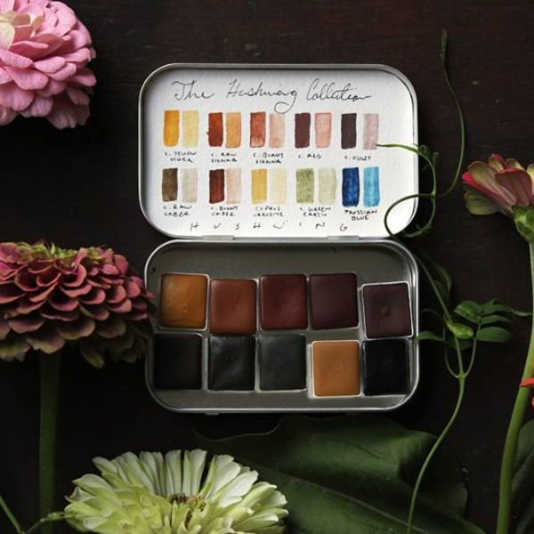 The HUSHWING COLLECTION {natural earth pigments}