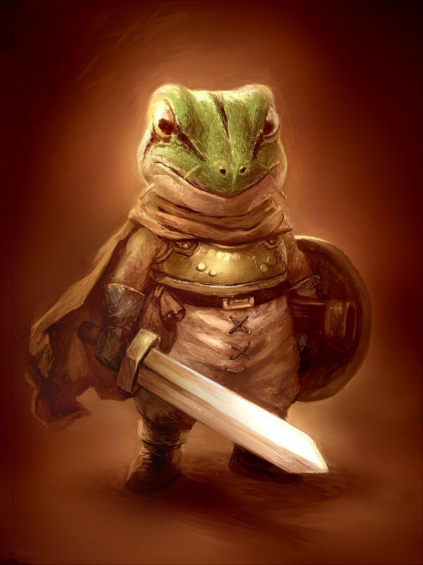 Chrono Trigger, Frog (Glenn) SPOILERS!!!!!!! always my favorite character.