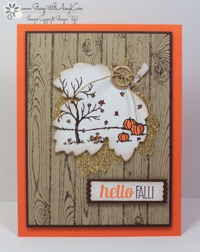 I used the Stampin' Up! Happy Scenes stamp set to create my card for The Paper Players Clean and Simple challenge this week. I've seen several like this on Pinterest, I think that Leena Girsa made...