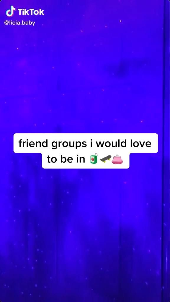 Different Friend Groups Pin B Oredd Video Crazy Things To Do With Friends Best Friends Whenever Cute Friends