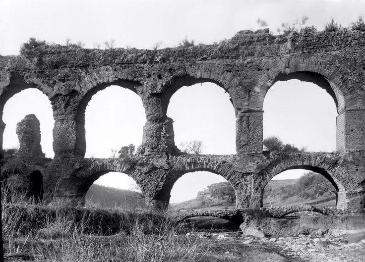 Campagna di Roma (Italia),  Ponte della Mola 18 GENNAIO 1896
