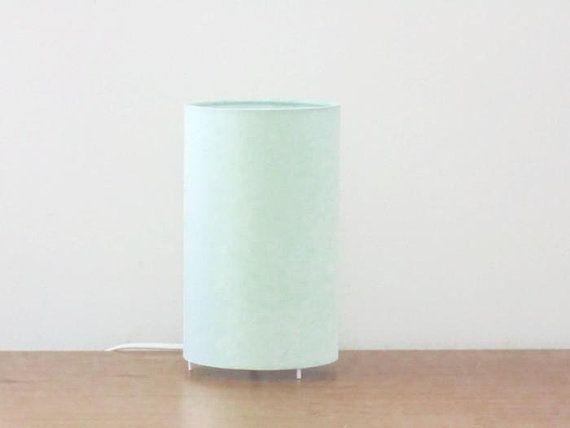 Lampe Tube Vert Pastel Scandinave Lampe Chevet Lampe D Appoint