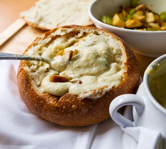 Vegan Clam Chowder! Get it, people!: Sourdough Bread