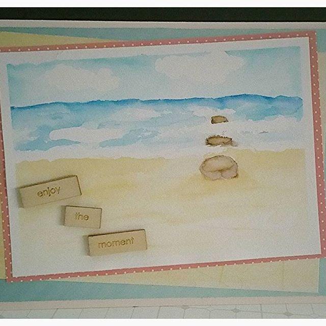 #ostsee #karte #fürmama #diy #selbstgemacht #cardmaking #crafting #card #basteln #creative