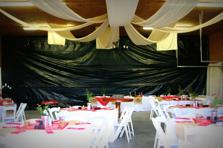 Turned A Working Race Car Garage Into Wedding Venue Bbq Pinterest Venues And Weddings