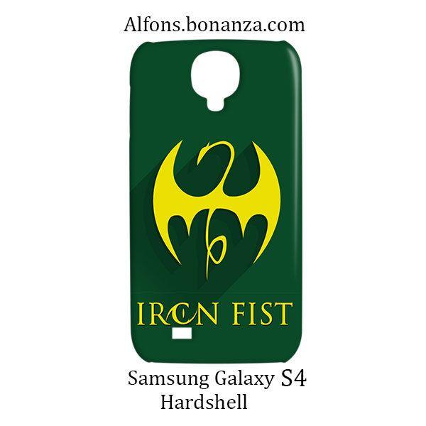 Iron Fist Superhero Samsung Galaxy S4 S IV Hardshell Case