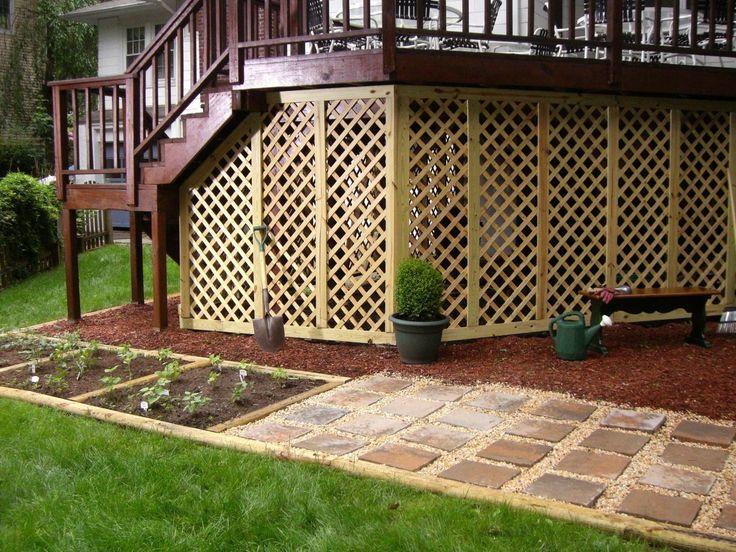 Adding Lattice to the Bottom of a Deck | Outdoor Spaces - Patio Ideas, Decks & Gardens | HGTV