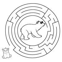 Kiddoland: Labirynt Niedźwiedzie