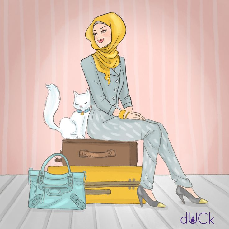 dUCKscarves Illustration by Soefara
