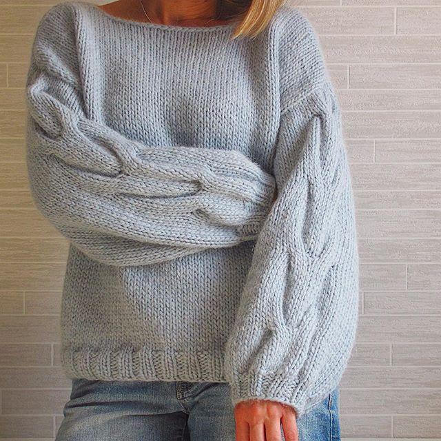 Чуть опоздала к понедельнику... Но, вот он-новенький, мягкий и тёплый альпаковый Вязание •Свитера•Кардиганы on Instagram